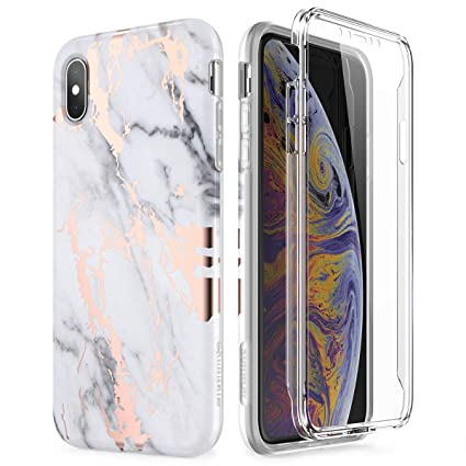 iphone xs max full body case screen protector