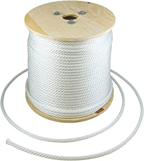 "product image for Flagpole Rope 5/16"" in Various Lengths, Made in The USA, Designed for Flagpoles, Available (500 Feet)"