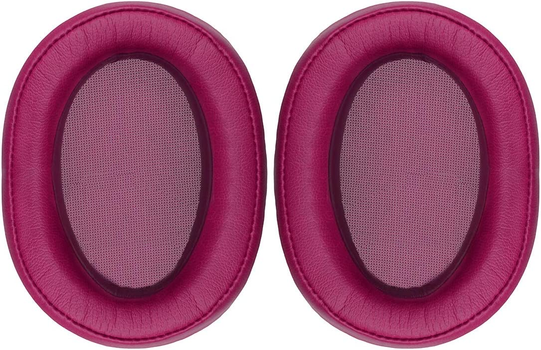 Earpads Repair Parts Replacement Earpads// Ear Cushion Bordeaux red Ear Cover Ear Cups Geekria Earpad Replacement for Sony MDR-100ABN WH-H900N Headphone Replacement Ear Pad