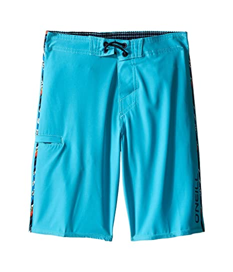 c2b57ec1a0 O'Neill Kids Boy's Hyperfreak Solid Boardshorts (Little Kids) Turquoise  Swimsuit Bottoms