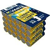 Varta BV-LL 24 AA Alcalino 1.5V batería no-recargable - Pilas (Alcalino, Cilíndrico, 1,5 V, AA, Azul, Amarillo, 50,5 mm)