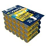 Varta Longlife Batteria Alcalina, Stilo AA LR06, Confezione da 24 Pile