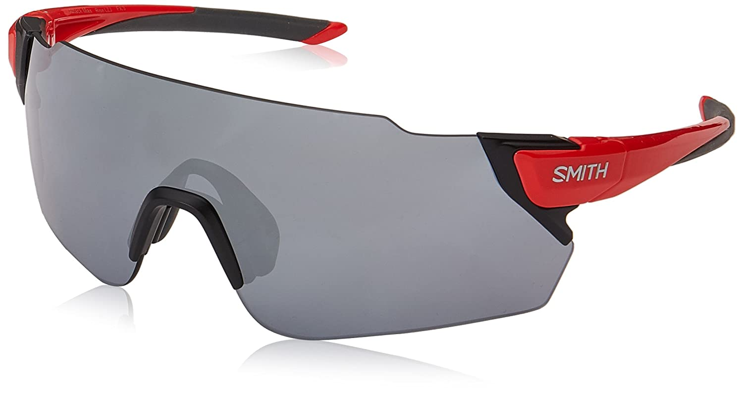 Smith Attack MAX XB LZJ 99, Gafas de Sol Unisex Adulto, Rojo (Cherry Red/SL Silver): Amazon.es: Ropa y accesorios