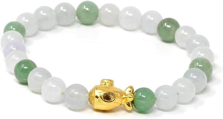 jade set 10 mm blue jade necklace stretch bracelet /& earrings set