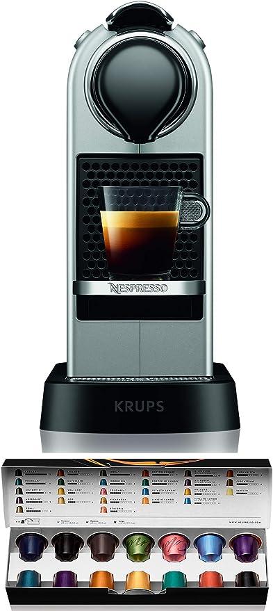 Nespresso XN741B Silver EU, Acero Inoxidable, Citiz Gris: Amazon.es: Hogar