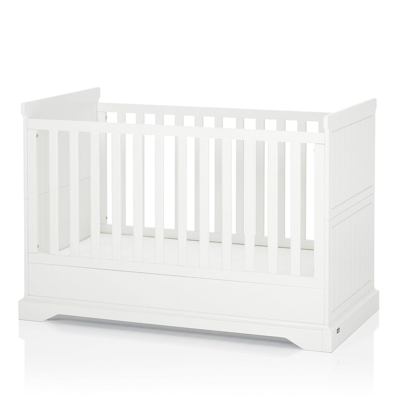Herlag H1950-0001 Kinderbett Classic, 148 x 94 x 79 cm, weiß