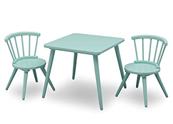 delta children windsor table u0026 2 chair set