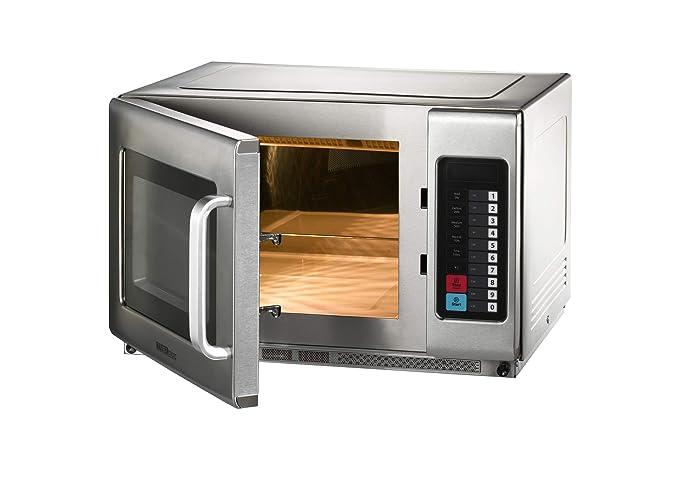 Microondas con aire caliente y función grill, 25 litros ...