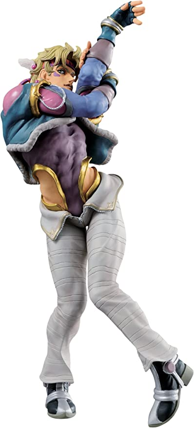 Amazon Com Banpresto Jojo S Bizarre Adventure Battle Tendency Jojo S Figure Gallery 3 Caesar A Zeppelin Action Figure Toys Games