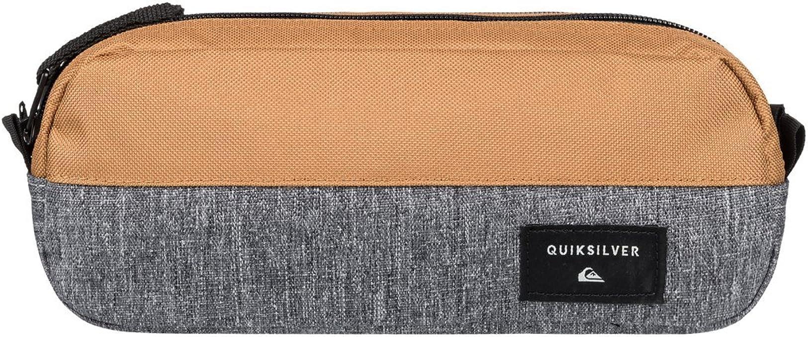 Quiksilver - Estuche escolar - Hombre - ONE SIZE - Gris: Amazon.es: Ropa y accesorios