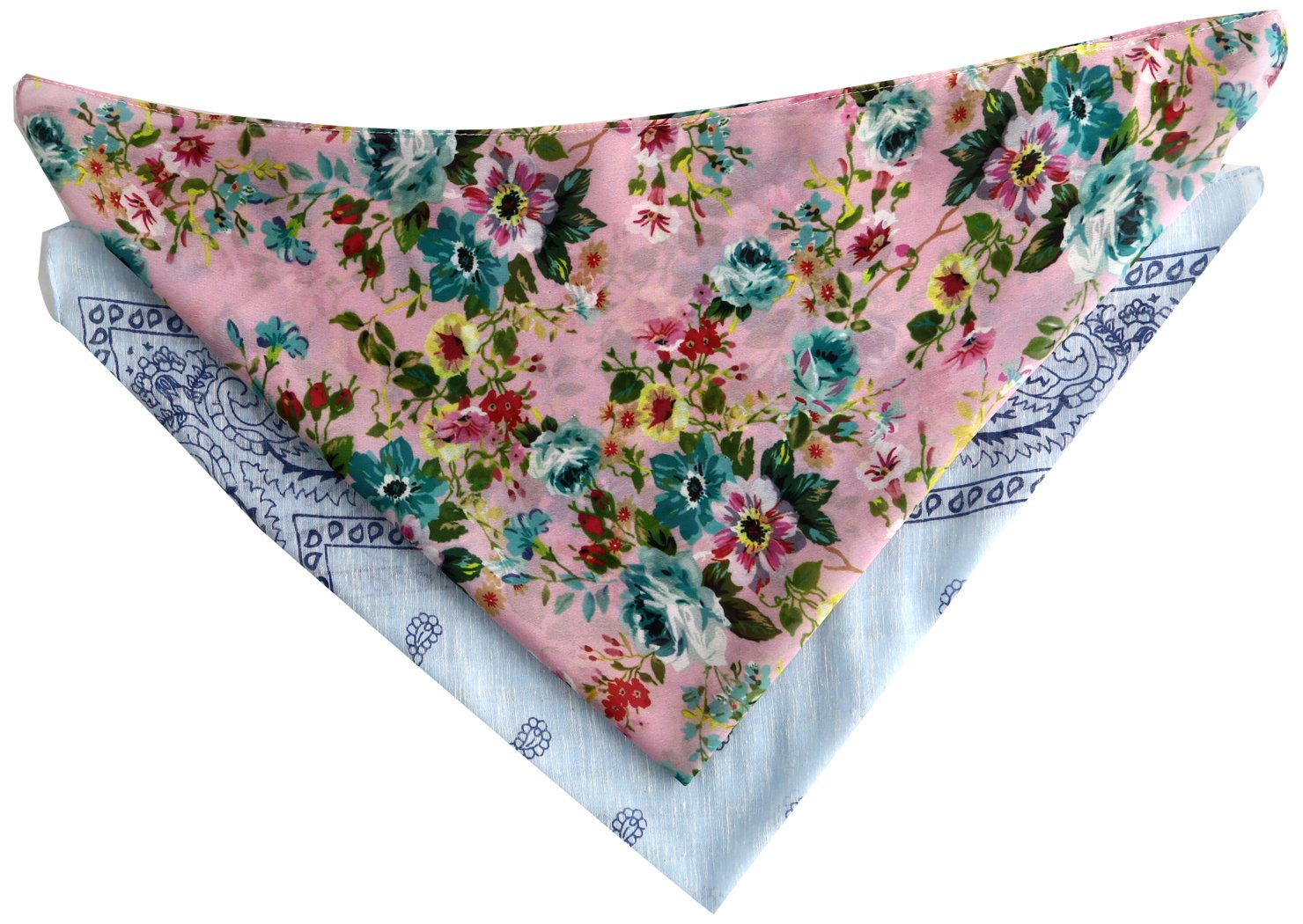 Steve Madden Women's Classic and Floral Bandana Set, Cool, One Size