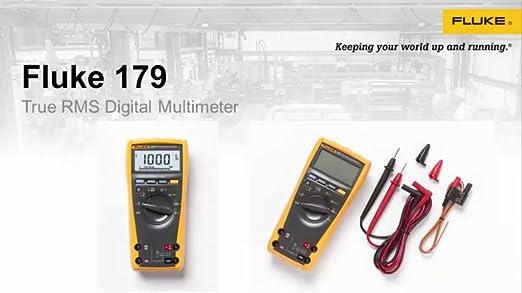fluke 179 esfp true rms multimeter with backlight and temp amazon rh amazon ca Fluke 179 Specifications fluke 179 user manual pdf