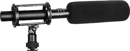 Amazon Com Boya By Pvm1000 Condenser Shotgun Microphone 3 Pin Xlr
