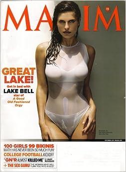 Maxim Magazine+September 2011+Lake Bell Cover+Angela