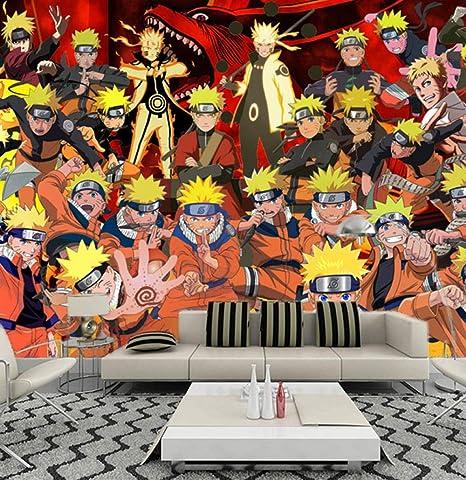 MGQSS Mural 3D autoadhesivo papel pintado misterioso ninja ...