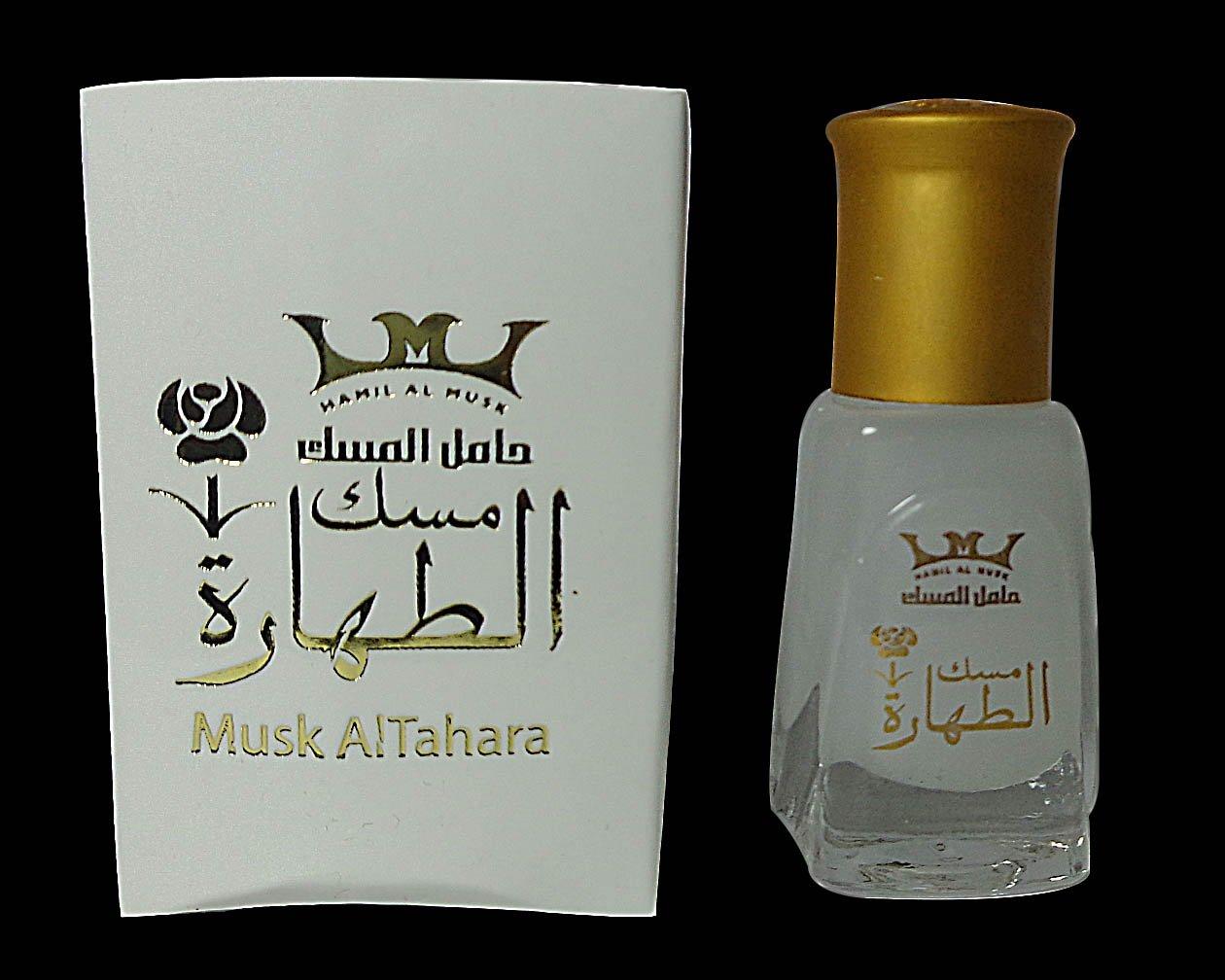 Pure Saudi Arabian Musk Al tahara Altahara Alcohol Free 5ml مسك أبيــض درجة أولى (12 Bottle = 60 ml)
