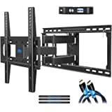 TV Wall Mount Bracket with Full Motion Articulating Arms for Most 26-55'' LED, LCD, OLED and Plasma TVs up to VESA 400 x…