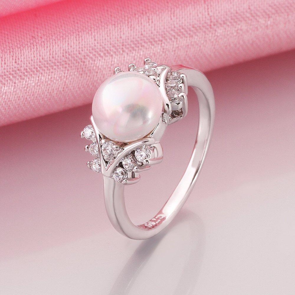 Amazon.com: HongBoom Jewelry Fashion Women\'s 18K Platinum Plated ...
