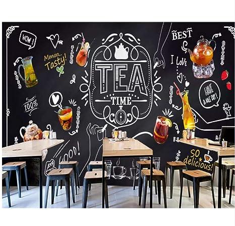 Para La Sala De Estar Mural De La Pared Tiza Pizarra Fruta ...