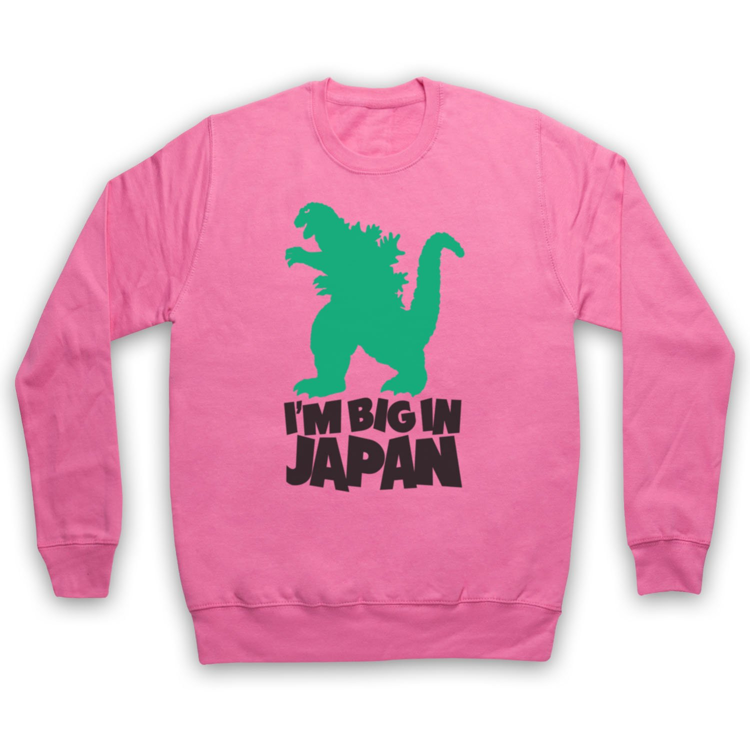 Godzilla Big In Japan Adults Sweatshirt