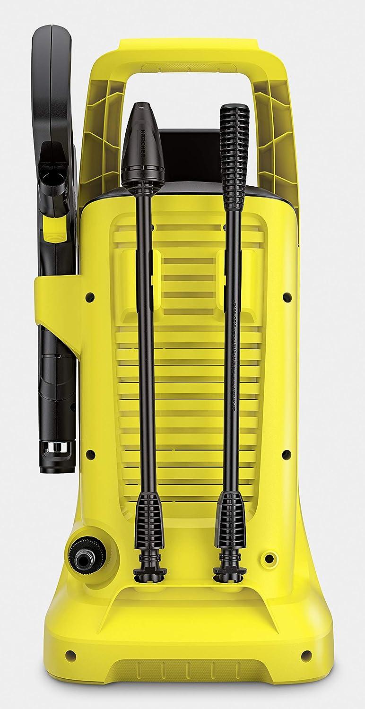 K/ärcher Akku Hochdruckreiniger K 2 Battery Set Druck: 110 bar, F/ördermenge 340 l//h, Akku 36 V // 5,0 Ah, 2 Strahlrohre, Wasseransauganschluss