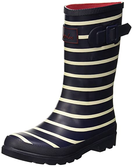 timeless design f70c9 fdc1a Tom Joule Jungen Welly Print Gummistiefel, French Navy Stripe