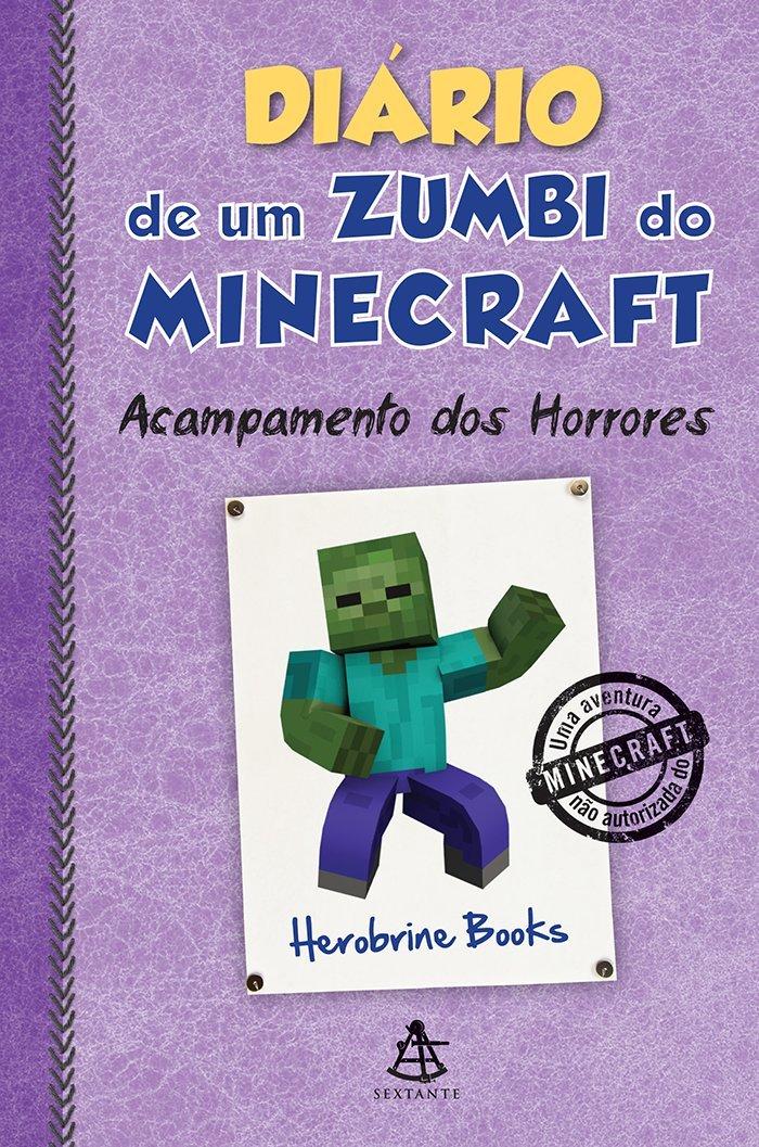 Resenha - Diário de um zumbi do Minecraft: Acampamento dos Horrores