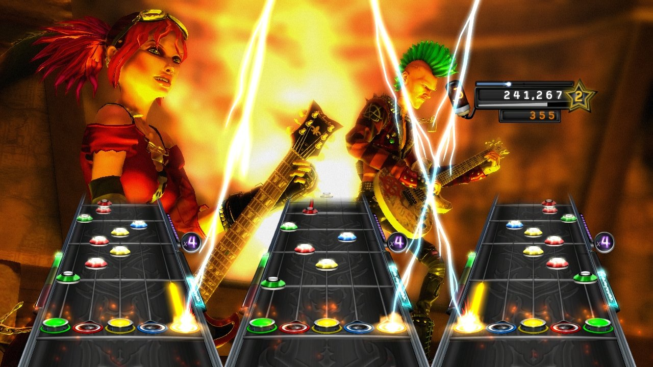 Guitar Hero: Warriors of Rock Stand-Alone Software - Nintendo Wii by Activision (Image #7)