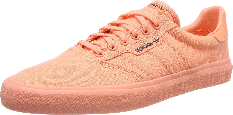 adidas 3mc, Chaussures de Skateboard mixte adulte Rouge (Chalk Coral S18Core Black), 44 23 EU
