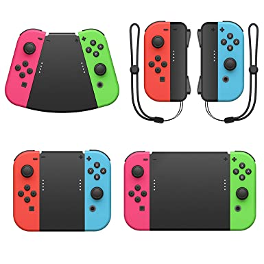 FASTSNAIL Handle Connector for Nintendo Switch Joy Con, 5in1