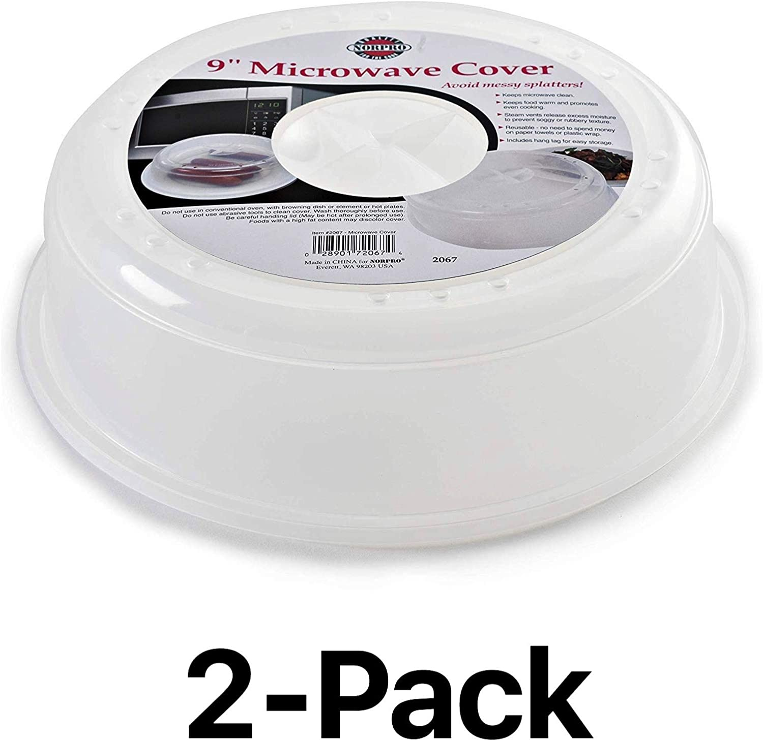 Norpro 2067 Microwave Cover (2) pack