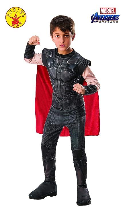 Rubies - Disfraz Oficial de Los Vengadores Endgame Thor, clásico para niños, tamaño Mediano, Edad 5 – 7, Altura 132 cm