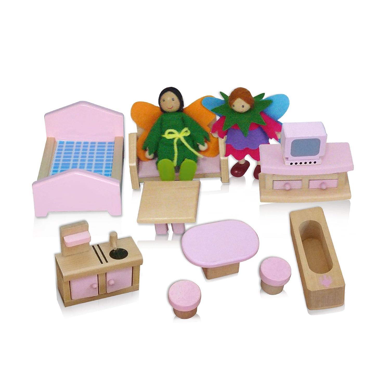 Attirant Amazon.com: Fantasy Fields   Magic Garden Hand Carry Doll House: Toys U0026  Games