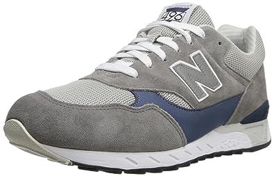 New Balance Men's CM496 Running Shoe,Grey/Navy,8 ...