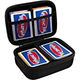 PAIYULE Hard Case Compatible for Phase 10 Card Game. Fits up to 360 Cards. Includes 2 Removable Divider