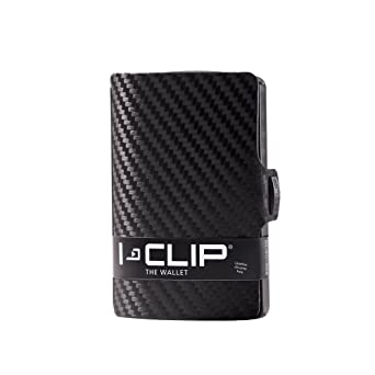 I Clip   Gunmetal Black   Slim Wallet   Minimalist, Thin Design & Money Clip by I Clip