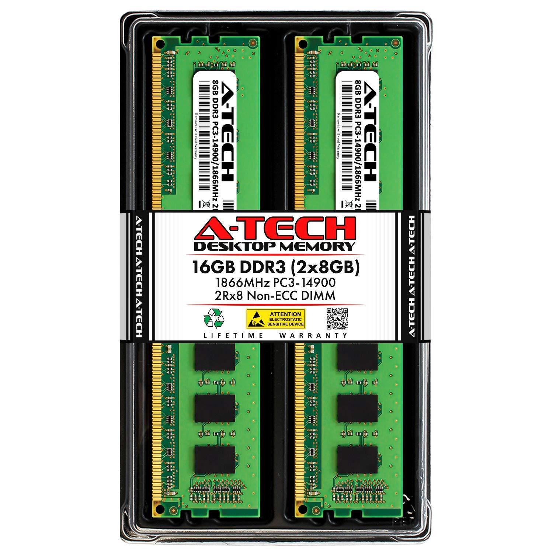Memoria Ram 16GB (2X8GB) DDR3 1866MHZ PC3-14900 A-TECH