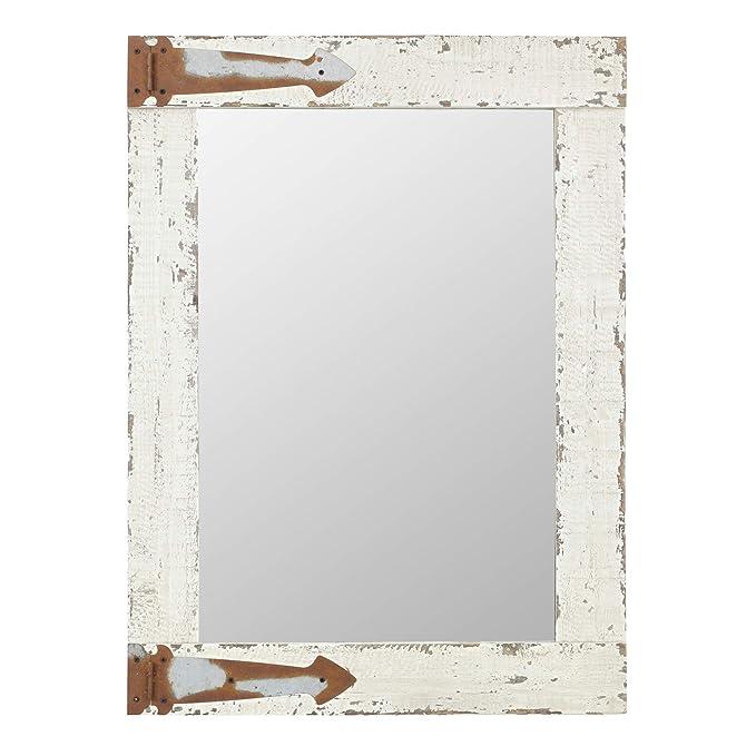 Aspire 6152 Wall Mirror, White