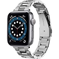 Spigen Compatible for Apple Watch Series 7/6/SE/5/4/3/2/1 40mm/38mm Strap Modern Fit - Silver