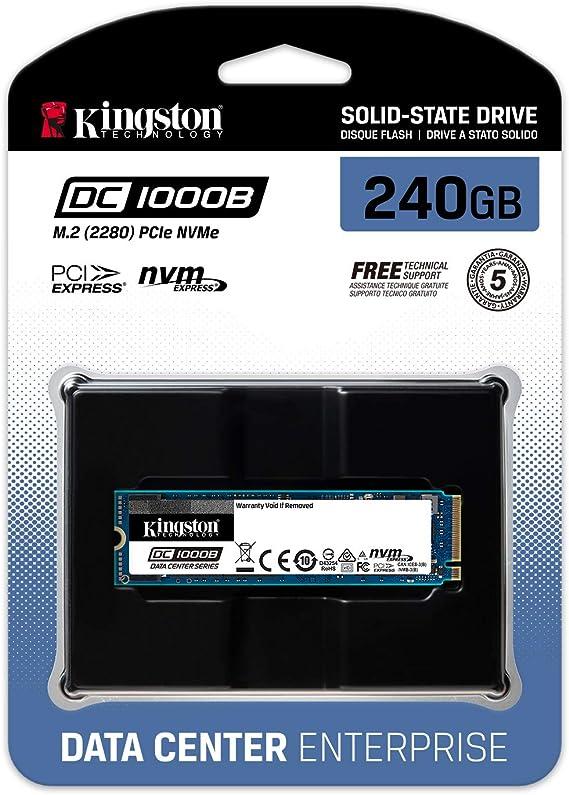 Kingston Data Center DC1000B (SEDC1000BM8/480G) NVMe SSD, 480 GB ...