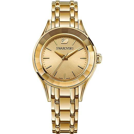 Swarovski Reloj analogico para Mujer de Cuarzo con Correa en Acero Inoxidable 5188840: Amazon.es: Relojes