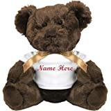 c58a93b0cfe Amazon.com  Flower Girl Personalized Teddy Bear - 13 inch Honey Vera ...