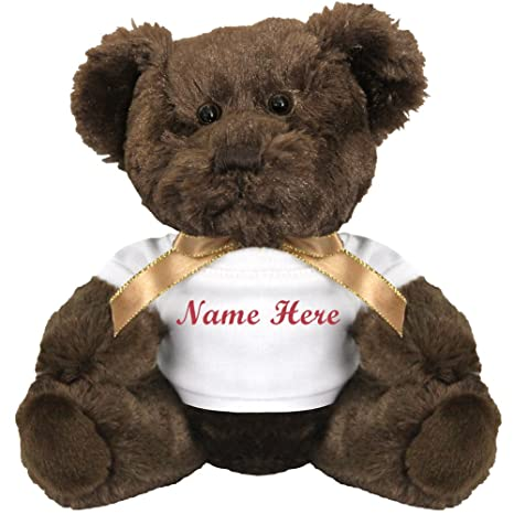 Amazon personalized bear gift small teddy bear stuffed personalized bear gift small teddy bear stuffed animal negle Gallery