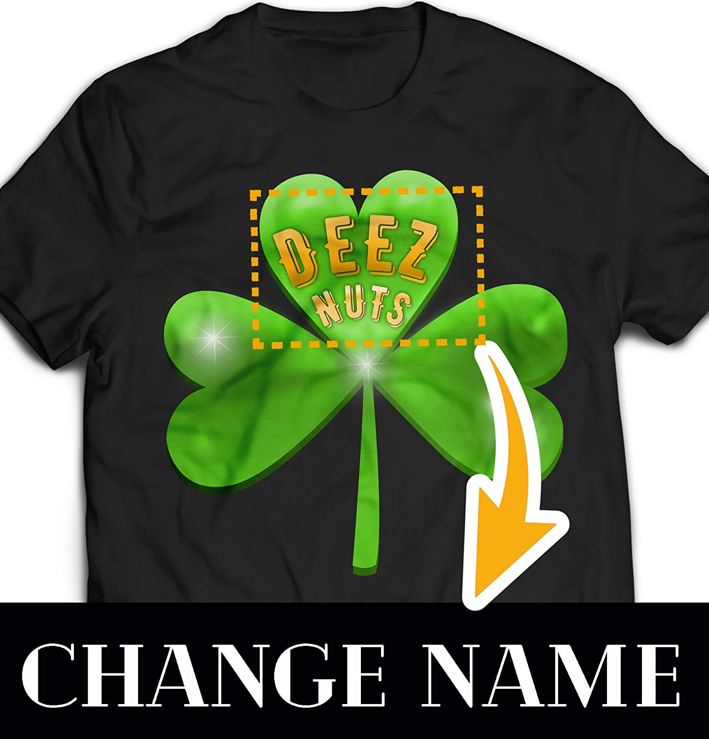 Amazon com: Shamrock Deez Nuts Irish St Patricks Day Funny