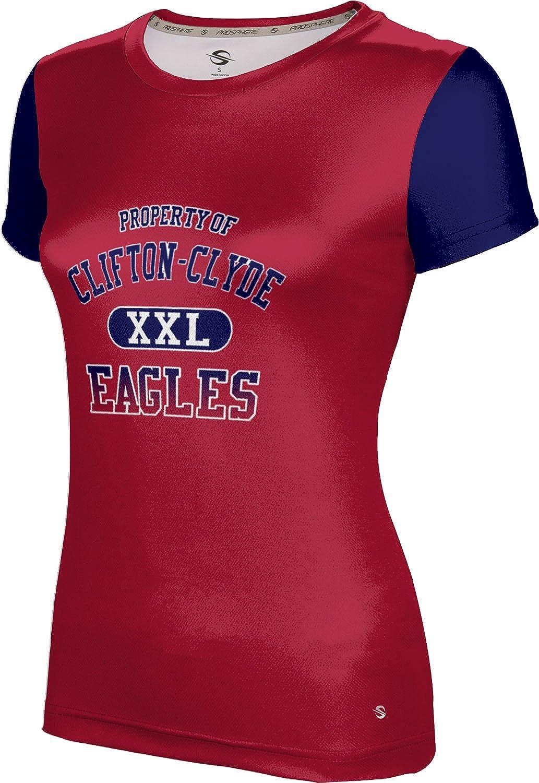 ProSphere Women's Clifton-Clyde High School Crisscross Tech Tee