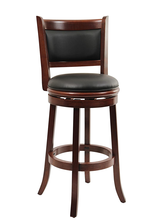 Boraam 8829 Augusta Bar Height Swivel Stool 29 Inch