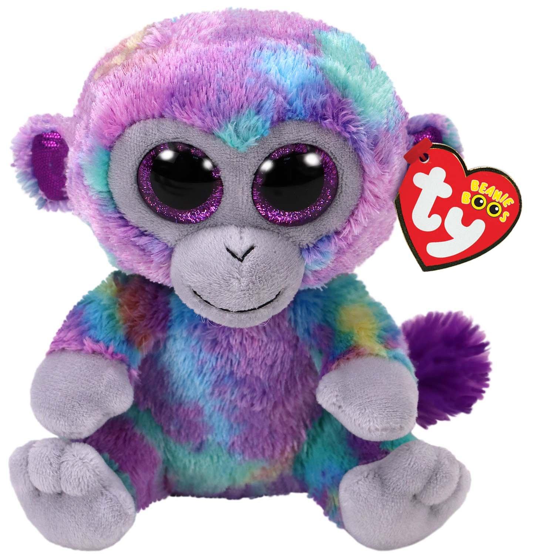 871ef3d9d16 Amazon.com  Ty Zuri Monkey Beanie Boo 15cm  Toys   Games