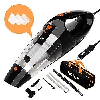 HOTOR WZW-007 Car Vacuum For Pet Hair