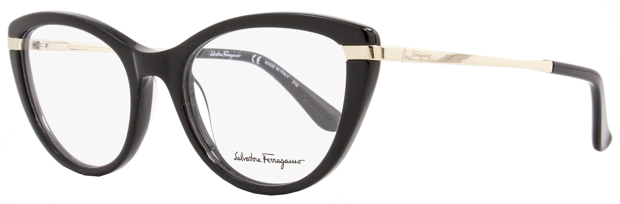 SALVATORE FERRAGAMO Eyeglasses SF2731 001 Black 52MM by Salvatore Ferragamo