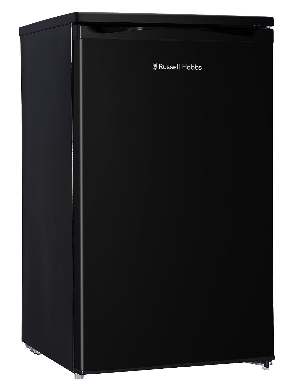Russell Hobbs RHUCLF2B Black 50 cm Wide Under Counter Freestanding Larder Fridge , Free 2 Year Guarantee [Energy Class A+] Russel Hobbs